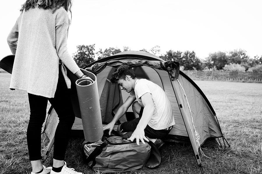 Campsite camping