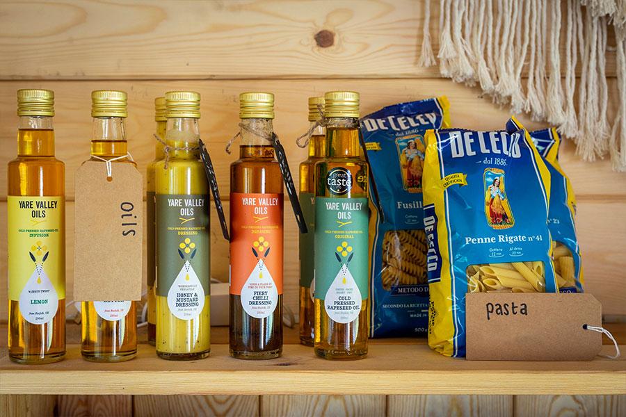 Hickling Shop oils